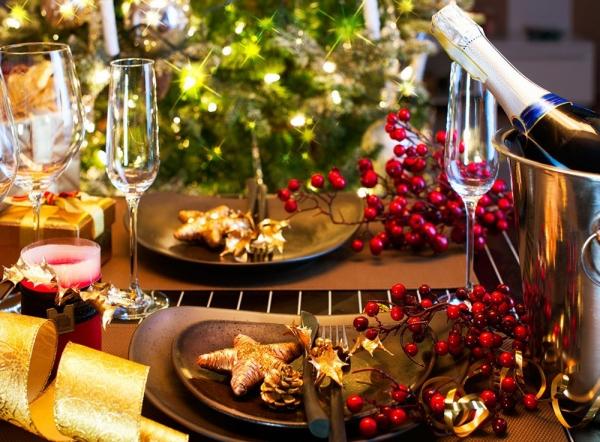 Новый год 2018: Украшение праздничного стола