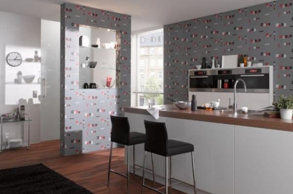 Почему флизелиновые обои на кухне лучше других настенных покрытий?