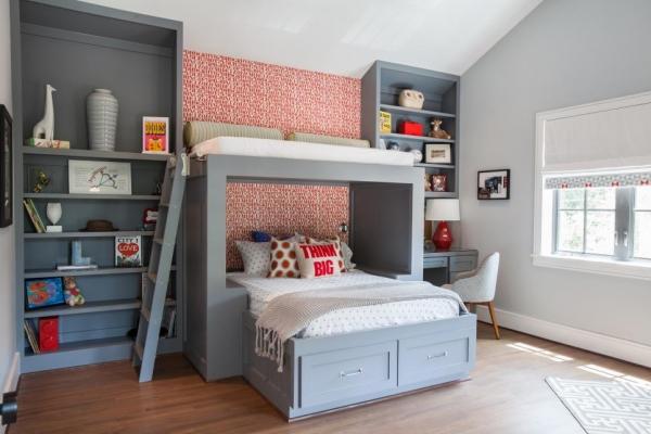 Спальня для мальчика: 35 интерьерных решений